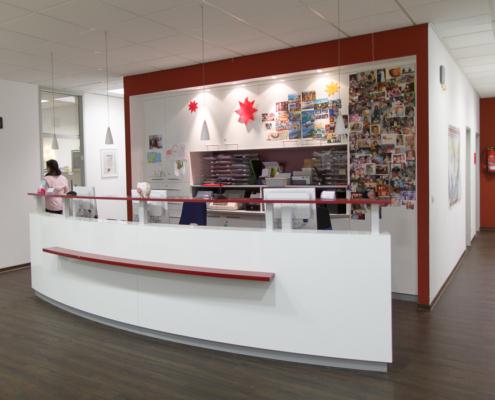 Medizinisches Versorgungszentrum Köln Empfangsbereich